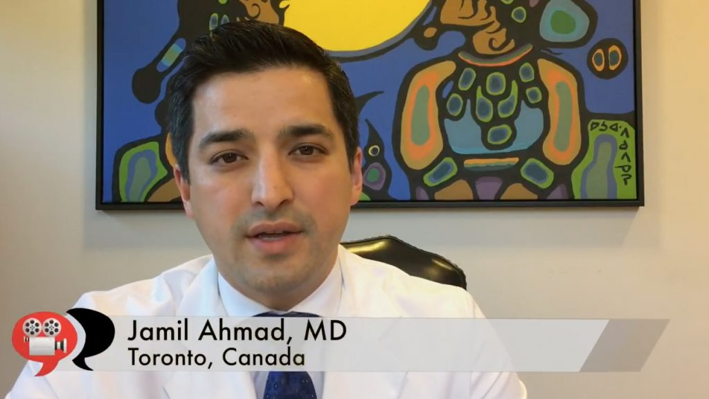 Dr. Ahmad in research video still