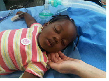 Haiti Child Patient