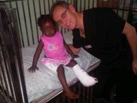 Haitian Child Patient