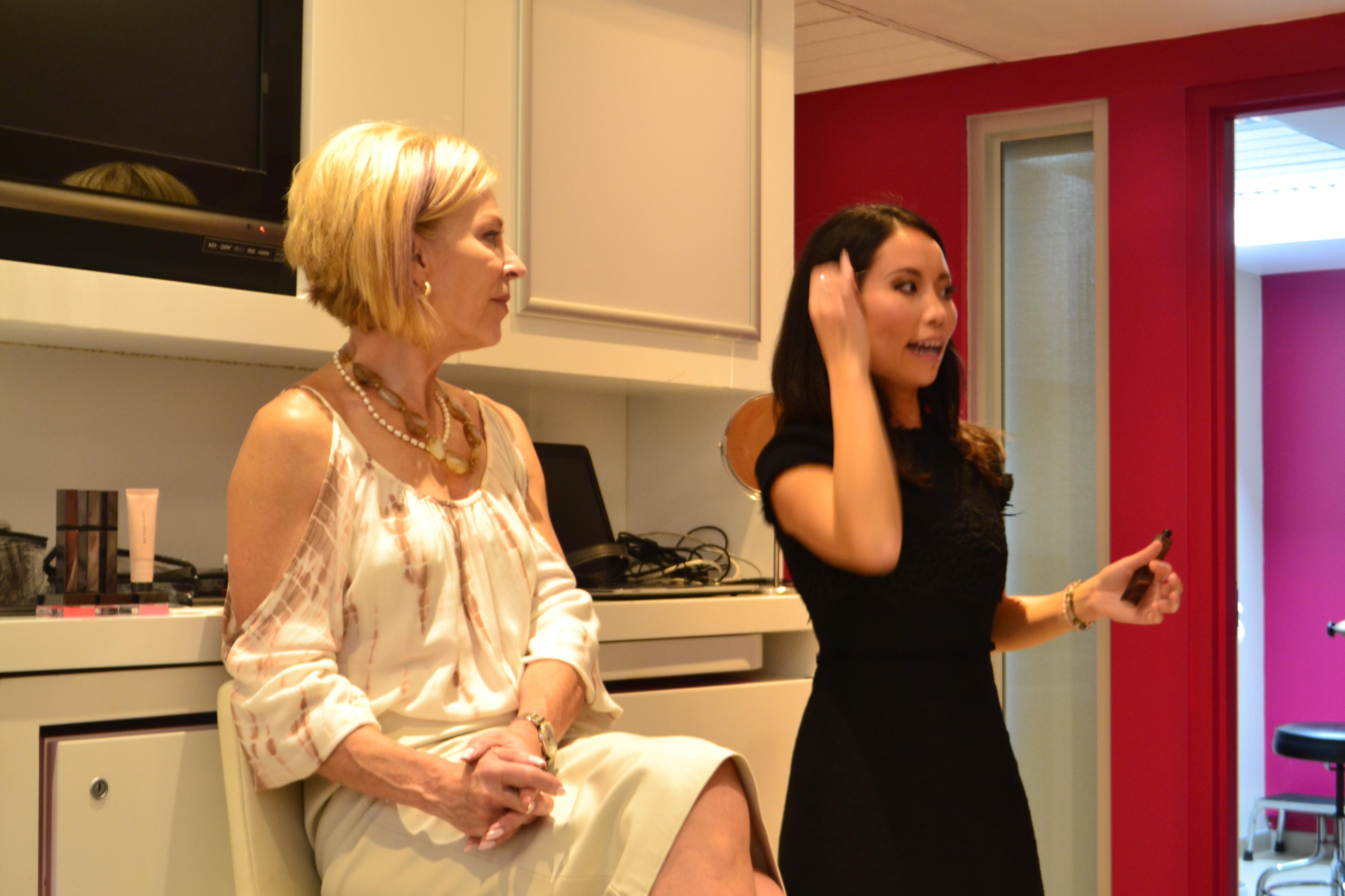 Beauty Lounge demonstration