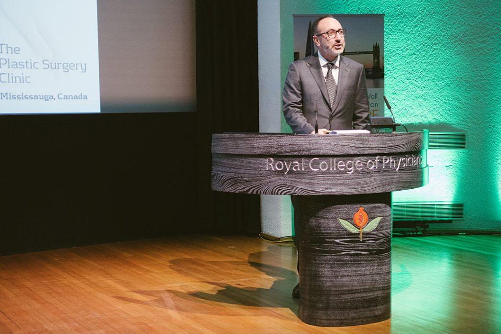 Dr. Lista Speaking in London