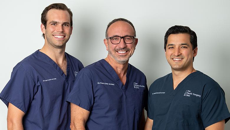 Dr. Austin, Dr. Lista and Dr. Ahmad